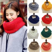 Free Shipping Fashion Women's Ring Scarf Wrap Shawls Girl's Warm Knit Neck Circle Ladies Artificial Wool Snood scarf For cold Wint