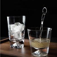 Творческого Фудзи чашка Стаканы Drinkware снег горы стекло бытового хрусталь бывающий / коктейль чашка бессвинцовая Простой коктейль чашка 0215