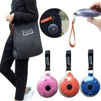Bolsas de la compra Bolsa para enrollar almacenamiento en disco pequeño retráctiles de la Bolsa multiusos portable supermercado bolsas de almacenamiento de la casa para guardar HA1257