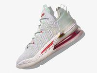 ليبرون 18 الإمبراطورية اليشم جيمس جانج لوس أنجلوس أحذية كرة السلة يوما مع صندوق جيمس الجنود الرابع عشر الرياضة أحذية مدرب أحذية الحجم 7-12