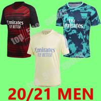 20 21 Gunners formação uniforme Soccer Jersey 2020 Arsen PEPE NICOLAS CEBALLOS HENRY GUENDOUZI treinamento SOKRATIS TIERNEY Football terno camisas
