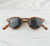 الجملة-غريغوري بيك الرجال النساء نظارات شمسية خمر الاستقطاب ov5186 ريترو نظارات الشمس ov 5186 مع حزمة كاملة