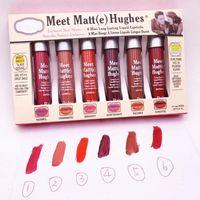 6 teile / satz Meet Matt (e) Hughes Lippenstift Rouge Ein Levre Listicks Lip Gloss Kit Lipgloss Kosmetik Maquiagem