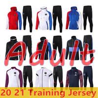 Erwachsene Trainingsanzug 2020 2021 Pariser Hoodie Jacke Überleben 19 20 21 Paris Cavani Mbappe Fußball Jacken Air Jordam Fußball Trainingsanzug