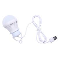휴대용 초 롱 3V 3W USB 전구 조명 램프 LED 5730 캠핑 텐트 여행 작업 전원 은행 노트북