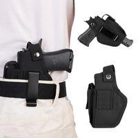 (Tactical) Cintura Holster Destra Mancino Cuttable (a scomparsa) Pistola Carry della cassa del sacchetto per la rivista