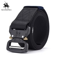NO. ONEPAUL outdoor hunting Metal tactical belts for men mult...