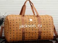 Sıcak marka erkekler lüks kadın seyahat çantası PU Deri spor çantası markası tasarımcı bagaj çanta büyük kapasiteli spor bag55 * 25 * 30cm