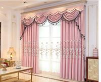 2020 heißen Verkauf neuer Vorhang moderne übersichtliches Wohnzimmer Schlafzimmer Balkon Shading Vorhang Tuch individueller Vorhang fertiges Produkt