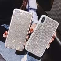 New Luxury phone Case For Iphone 11 bling bling Rhinestone G...