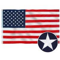 2020 الأمريكي النجوم والخطوط أعلام الولايات المتحدة الأمريكية حملة الرئاسة راية العلم للرئيس حملة راية 90 * 150cm وأعلام حديقة