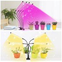 الطاولة كليب النوع نمو النبات مصباح 5 قطعة التعبئة يعتم وضع ثلاثة الإضاءة وسائط السوبر مشرق LED النبات نمو الخفيفة