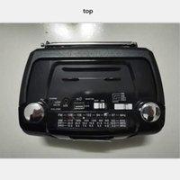 Freeshipping AM / FM / SW-Radio Tragbares Stereoradio-Empfänger Bluetooth-Lautsprecher USB-TF-Karte MP3-Musik-Player mit Teleskopantenne