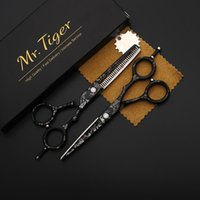 Quality Kit Tool Barber 6. 0 Cutting Haircut Shears Professio...