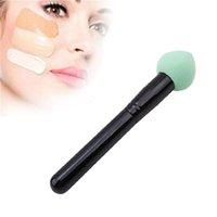 1pcs Maquiagem Moda Silisponge lindo maquillaje Cepillos Líquido Crema Fundación esponja cosmético del cepillo del soplo