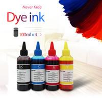 Kits de recharge d'encre kits universels 100 ml kit de colorant pour canon frère tous modèles imprimante CISS Voor Inkt Tank