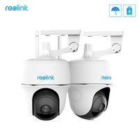 Mini Kameralar Reolink Argus PT 2 Paket 1080 P Pil WiFi Kamera Açık Kapalı için Kablosuz Güvenlik