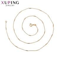 Xuping Rose banhado a ouro Cor romântico para meninas e Man seção longo colar de jóias presentes bonitos graduação 44766