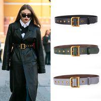 2020 Cintura Designer Cintura in vera pelle per le donne di alta qualità Fashion Waist D Buckle Ceinture Femme Plus Size