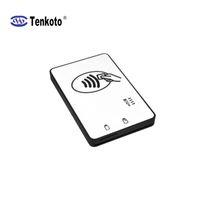 ISO7816 칩 무선 RFID NFC 카드 블루투스 리더 라이터 듀얼 인터페이스 블루투스 스마트 카드 리더