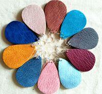 Kadınların Kız için Küpe Takı reçine Sıcak Satış 2020 Druzy drusy damla saplama Küpe 15 Renkler Crystal Druzy geometri yılbaşı Hediye Brithday