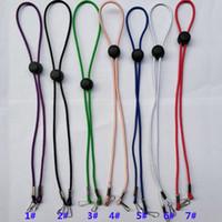 أقنعة متعدد الألوان حبل معلق الحبال قابل للتعديل قناع سلسلة مكافحة زلة قناع الأذن القبضات تمديد أقنعة هوك حبل معدني حامل الحبل HH9-3305