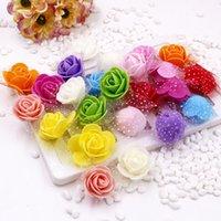 Le meilleur de la qualité Gaze mousse Pe main décorative Couronne Rose Ours Diy fleur artificielle sortie