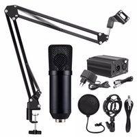Stüdyo Ses Kaydı Bilgisayar Mikrofon Nb35 Mikrofon Standı için Bm 700 Kondenser Mikrofon ile Fantom Güç Şok Dağı Pop Filtre