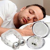 Силиконовый Магнитный Анти храп Стоп Храп зажима для носа сна Tray Спящего помощи Апноэ Guard Night устройства с случаем