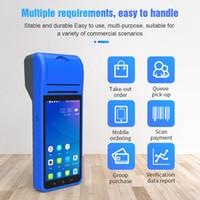 """الطابعات 5.5 """"HD IPS Screen 3G WiFi PDA Terminal Landheld طابعة الماسح الضوئي اللاسلكي اللاسلكي الذكية ل 1D 2D الباركود المسح"""