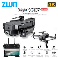 ZWN SG107 Мини Drone с 4K WIFI FPV HD Двойная камера Quadcopter оптического потока Rc Дрон Gesture Control Детские игрушки VS E58 E68 SG106 T200910