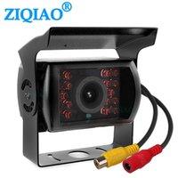 버스 트럭 트레일러 HD IR 나이트 비전 모니터 반전 카메라 HS004 자동차에 대한 ZIQIAO 적외선 후면보기 주차 Camear
