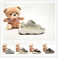 (box) Kids Shoes Baby Toddler Run Sneakers Kanye West Yez 70...