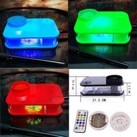 NEUE ARRVAL Hot Tolles Design Shisha-Gerät Desktop-Haken-Tee-Set-Art-DAB-Rig mit steuerbaren LED-Leuchten 5 Farben Party Bar Raucherpfeife