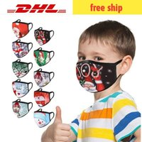 Face mask kids and adult reusable face-mask black Polyester cotton washable sublimation masks mascarilla DHL free shopping 7-10days