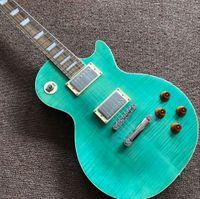 New Custom standard Tiger Flame chitarra elettrica standard chitarra, strumenti musicali guitarra.Rosewood tastiera, un manico pezzo e corpo