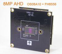"""AHD 8.0MP @ 15FPS 3840 x 2160 1 / 1.8"""" sensor de imagem OmniVision OS08A10 CMOS + FH8556 CCTV bordo módulo de câmera PCB (peças opcionais)"""