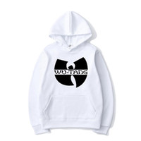 Hip Hop Band Solid Color Print Hoodies Wu Tang Clan Homme Femme Mode Sweat à capuche Sport Hoodie Casual Pull Tops unisexe