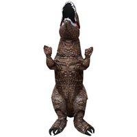 ازياء التميمة الساخن بيع الكبار للأطفال الديناصور نفخ ازياء تنكرية هالوين حزب حلي كرتونية مضحكة كرنفال YJL44