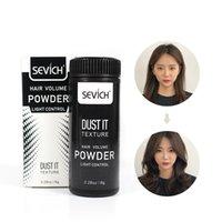 Sevich 8g polvere di Mattifying aumenta il volume dei capelli Acquisisce Taglio di capelli Unisex Hair Styling Modeling Polvere Lacca Rimuovere olio per i capelli