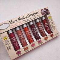 Die Balm Treffen Hughes Lipgloss 6 Farben Matt Long Lasting Antihaft-Cup 6 Lip Glaze Lippenstifte