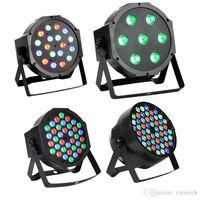 DMX512 RGB (18 개) LED DJ 디스코 빛 파티 빛 프로젝터 조명 배경 웨딩 KTV 쇼 클럽 바 크리스마스 장식