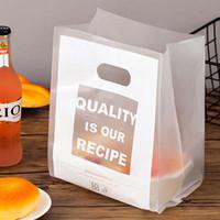 Galletas de la bolsa de plástico transparente regalo de tela de almacenamiento Bolsa de la compra con mango fiesta de la boda del caramelo de la torta de embalaje Bolsas