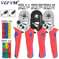 Pliers Tubular terminal crimping tools mini electrical plier...