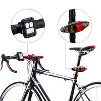 USB # LED biciclette H40 ricaricabile fanale posteriore Attenzione bici luci posteriori Smart Wireless Remote Control Indicatore di direzione