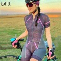 kafitt vêtements de cyclisme féminin costume d'été Collants salopette vêtements Maillot maillot de l'équipe pro fessionnelle manches courtes