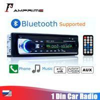 AMPrime universal 1 din radio de coche en el tablero de MP3-JSD520 audio de DVD incorporado en altavoces estéreo de FM Ayuda Bluetooth USB Aux / TF