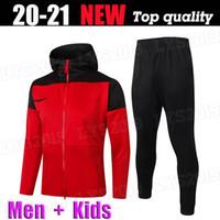 الرجال مقنع سترة 2020 2021 RASHFORD BRUNO FERNANDES سترة واقية التدريب ارتداء لكرة القدم جيرسي MARTIAL JAMES كرة القدم الركض دعوى UTD 20 21
