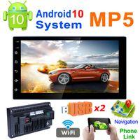 쿼드 코어 안드로이드 10.0 자동차 비디오 MP5 플레이어 / GPS / Phonelink / Bluetooth / WiFi