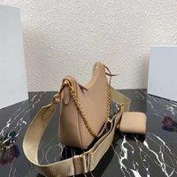 Bolsa de couro hobo saco feminino messenger walle axilas moda senhora cadeia três-em-um único sho rajqe